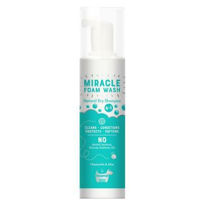 Hownd MIRACLE FOAM WASH Natural Dry Waterless Cleansing Conditioning Dog Shampoo