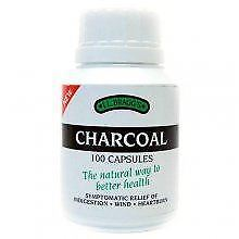 Braggs Charcoal Tablets Pl - R 100Tabs (12 Pack)