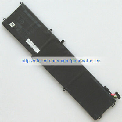 11.4V 97Wh Genuine new 6GTPY 5XJ28 battery for Dell XPS 15 9560 9550 i7-7700HQ