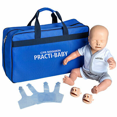 Pulox Reanimationspuppe Trainingspuppe Practi-Baby erste Hilfe Training