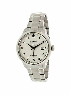 Seiko Men's SRPC17K Silver Stainless-Steel Automatic Fashion Watch