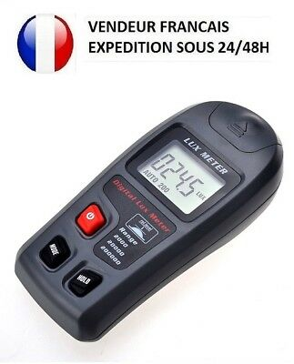 Light Meter Luminometer Photometer Digital Portable 200000 Lux Tester