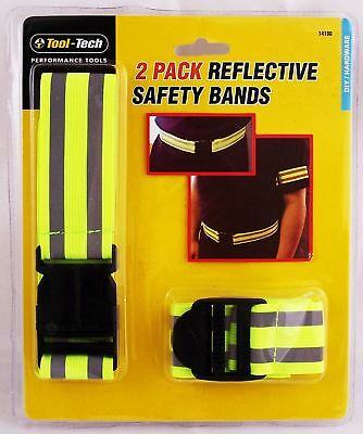 Hi Viz High Visibility Fluorescent Reflective Safety Belt Band
