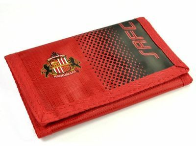 Sunderland AFC Fade Wallet Football Club Team Collection Men's Wallets Red