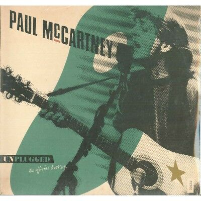 Paul McCartney ‎Lp Vinile Unplugged The Official Bootleg Numerato Sigillato