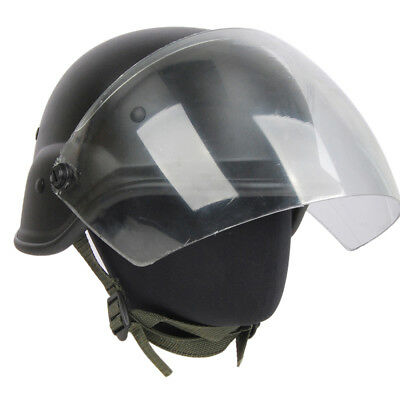 Paintball M88 PASGT Kelver Swat Helmet with Clear Visor Hunting Airsoft Cycling