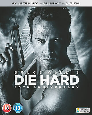 Die Hard [1988] (4K Ultra HD) Bruce Willis, Bonnie Bedelia, Reginald VelJohnson