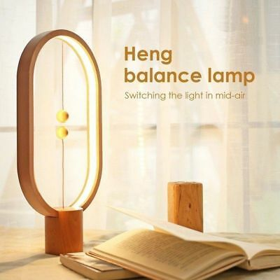 Heng Balance Lamp Magnetic Switch Desk Light 48pcs LED Bulbs Indoor Decoration