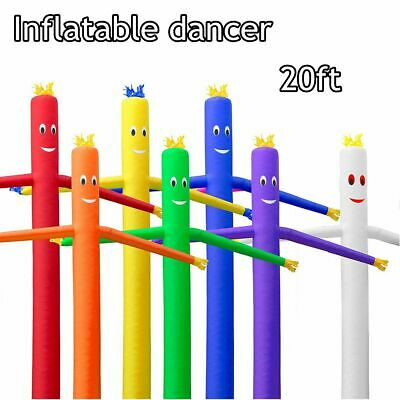 AU 3m/6m Inflatable Advertising Air Sky Tube Puppet Flag Wavy Man Wind Dancer