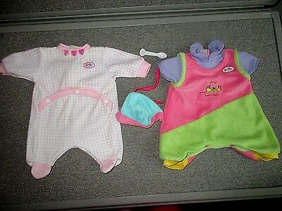 Zapf-Baby Born Doll-Clothes--Hat-Lot L6