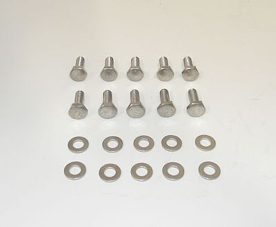 Ford Mustang FE 390-428 12Pt Bl Oxide Grade 8 Bolts for Cast Valve Covers NEW