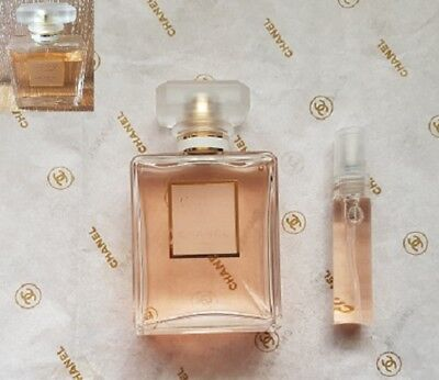Chanel Coco Mademoiselle EDP (100% Authentic) 5ml Glass spray Bottle