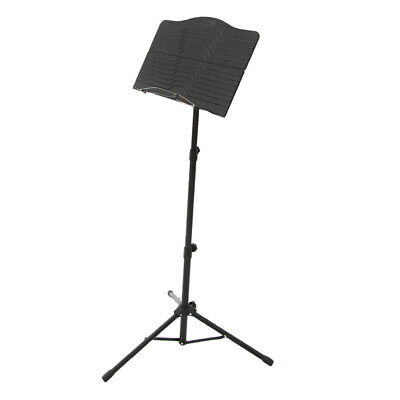 Adjustable Stable Iron Music Score Stand Sheet Holder for Instrument Parts