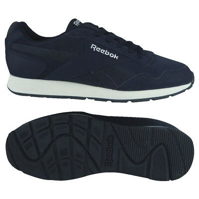 dd38ce3f978 Reebok Classic Leather Glide Suede CN4562 Navy Casual Trainers Size UK 7 -  12