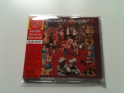 """Band Aid - DO THEY KNOW IT´S CHRISTMAS? - Japan Only 3"""" CD Single (12"""" Mix) OBI"""