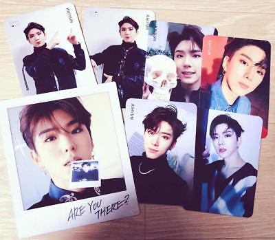 Monsta X KIHYUN Official Photocard 2nd Album Take.1 Are You There? 7 FULL SET