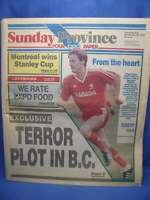 EXPO 86 Sunday Province Newspaper 5/25/86 Vancouver B C 140 Pages Canada Fair