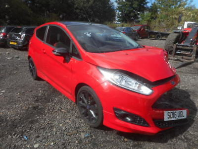 2016 Ford Fiesta Zetec S Red Edition 1.0 Turbo Salvage Damaged Repairable Car