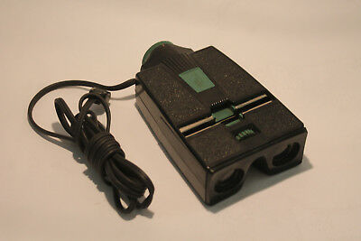 vintage lighted stereo realist green button slide viewer working