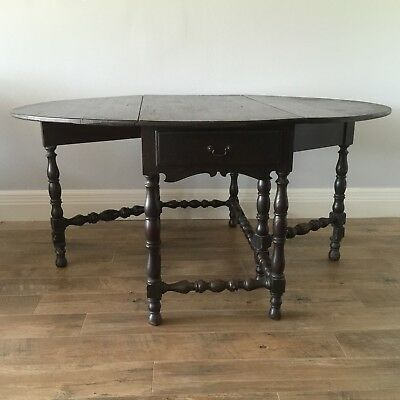 17th century William and Mary table