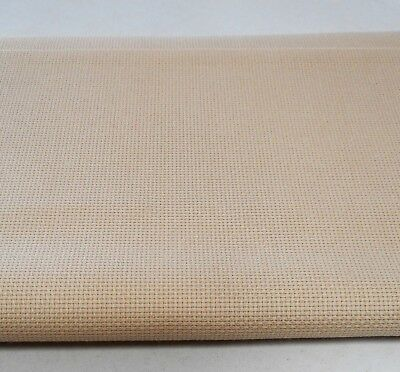 14 count AIDA ~ BONE/IVORY (#3740) - 50 x 53 cms (NEW from ZWEIGART)