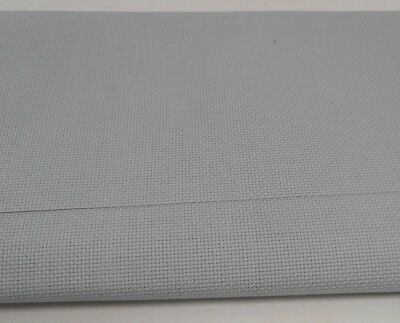 14 count AIDA ~ GREY - 50 x 53 cms (NEW from ZWEIGART)
