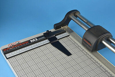 """Saunders M3 Series 24"""" Professional Rotary Paper Trimmer Rototrim Clean Used"""