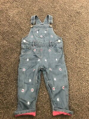 baby girl dungarees 9-12