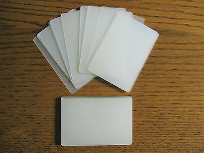 100 Laminating  Laminator Pouches Credit Card Size