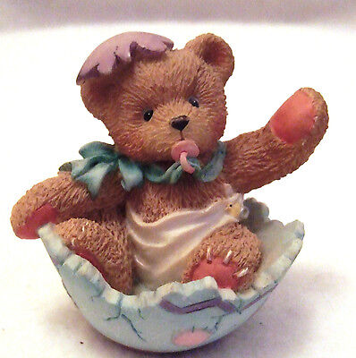 Cherished Teddies Bunny-Just In Time For Spring Figurine 1994  103802
