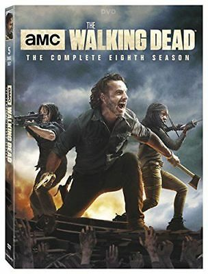 The Walking Dead:8 The Complete Eighth Season (DVD, 2018, 5-Disc Set) NEW!!