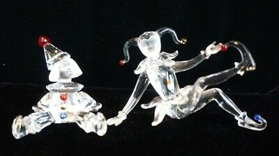 a3fc5d80c8e4 SWAROVSKI CRYSTAL JESTER and Clown Retired -  109.00