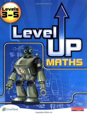 Level Up Maths: Pupil Book (Level 3-5) (Level Up Maths), , Good Condition Book,