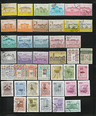 Hungary stamps - 1980-90 - Used
