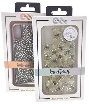 buy popular 86718 3e7a9 CASE MATE PREMIUM KARAT Mother Pearl Brilliance Lace iPhone XS and iPhone X  10