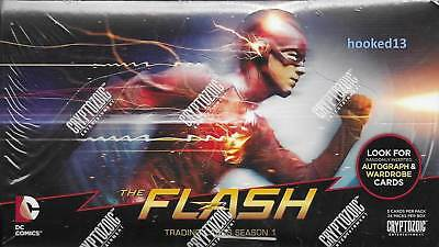 The Flash Season 1 Trading Cards Box Cryptozoic 2016