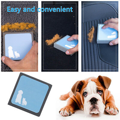 Pet Fur Cleaning Brush Sweep Foam Sofa Carpet Dog Cat Hair Remover Easy Cleaner