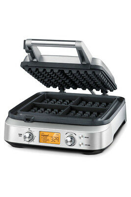 NEW Breville BWM640BSS The Smart Waffle Pro Maker - Stainless Steel
