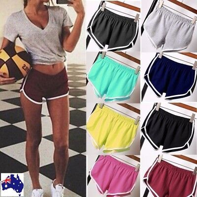 Casual Women Girls Sports Gym Running Shorts Summer Beach Workout Belt Soft Sexy
