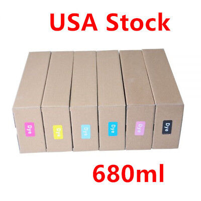 680ml Refilling Cartridge for HP DesignJet 5500/5100/5000/1050/1055 6 Colors