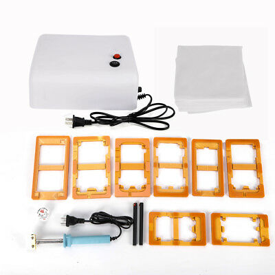 Alignment Mold Outer Glass LCD Lens Repair Moulds Kits For SCREEN Separator NEW