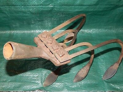VINTAGE! 5 Tine Hand Cultivator Head by Norcross 55