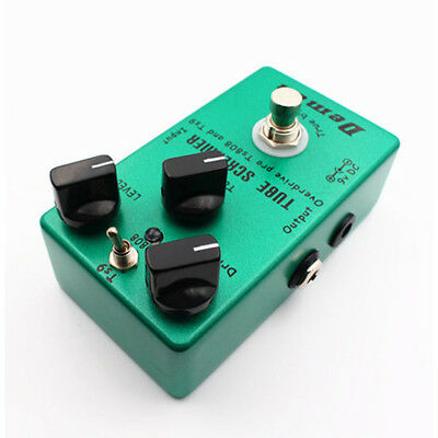 Upgraded Effect Pedal Distortion Tube TS9 TS808 Overdrive Screamer 2in1 Premium