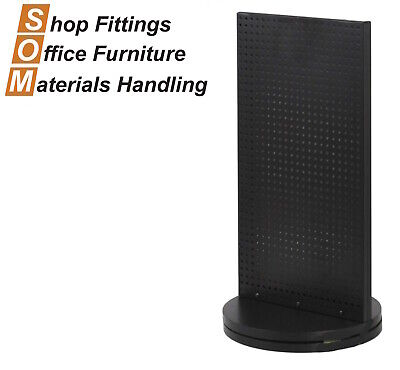 Double Sided Pegboard Display Counter Top Spinner Stand