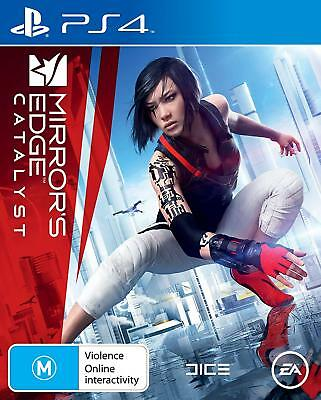 MIRRORS EDGE CATALYST PS4 NEW & SEALED *Free Post*