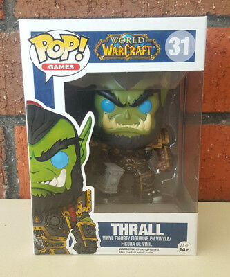 FUNKO POP! WOW - World of Warcraft - THRALL - Vaulted RARE