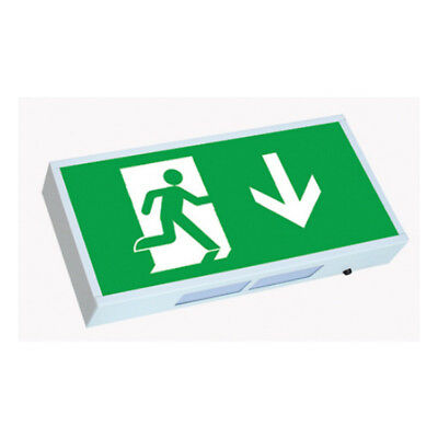 Greenbrook ELEXS Emergency Exit Sign 3 Hour Maintained / Non-Maintained IP20 8W
