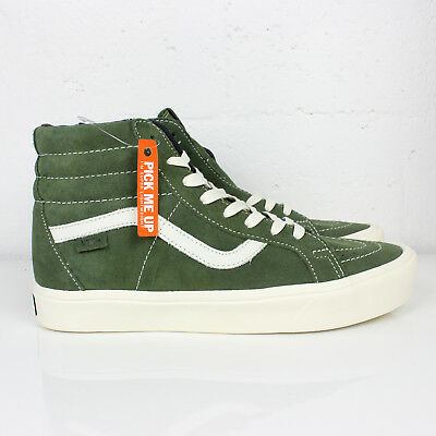a678931211 Vans Sk8-Hi Reissue Light Suede Rifle Green Size 9 Lightweight Vault blends