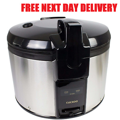 NEW Korean Cuckoo SR-4600 4.6 Litre Commercial Restaurant Take Away Rice Cooker