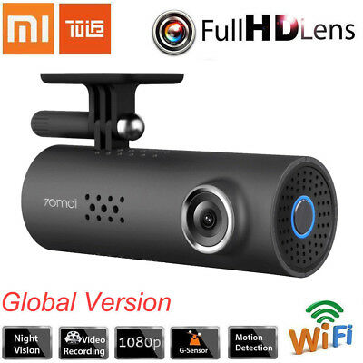 Xiaomi 70mai 1080P WiFi Dash Cam Voice Control DVR Camera -International Version